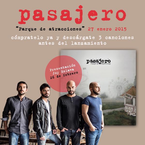 Pasajero @ Joy Eslava, Madrid | Madrid | Comunidad de Madrid | España