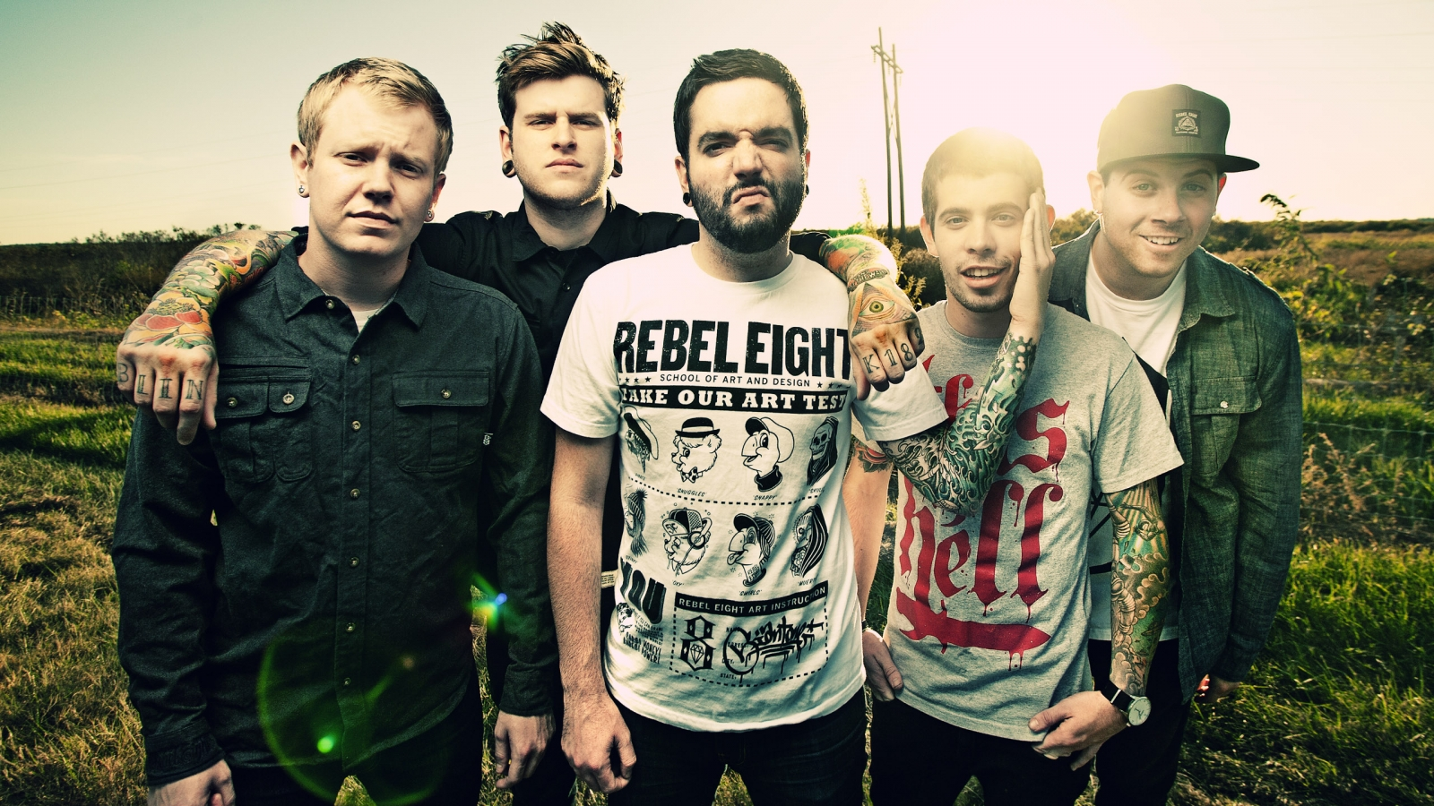 que A Day To Remember van  A Day To Remember