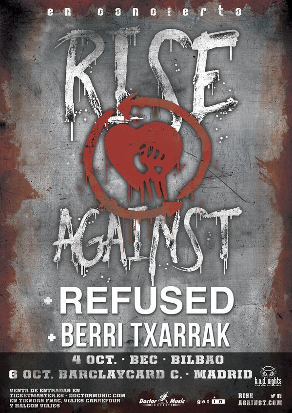rise against refused berri txarrak