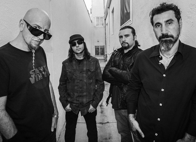 system of a down 2016