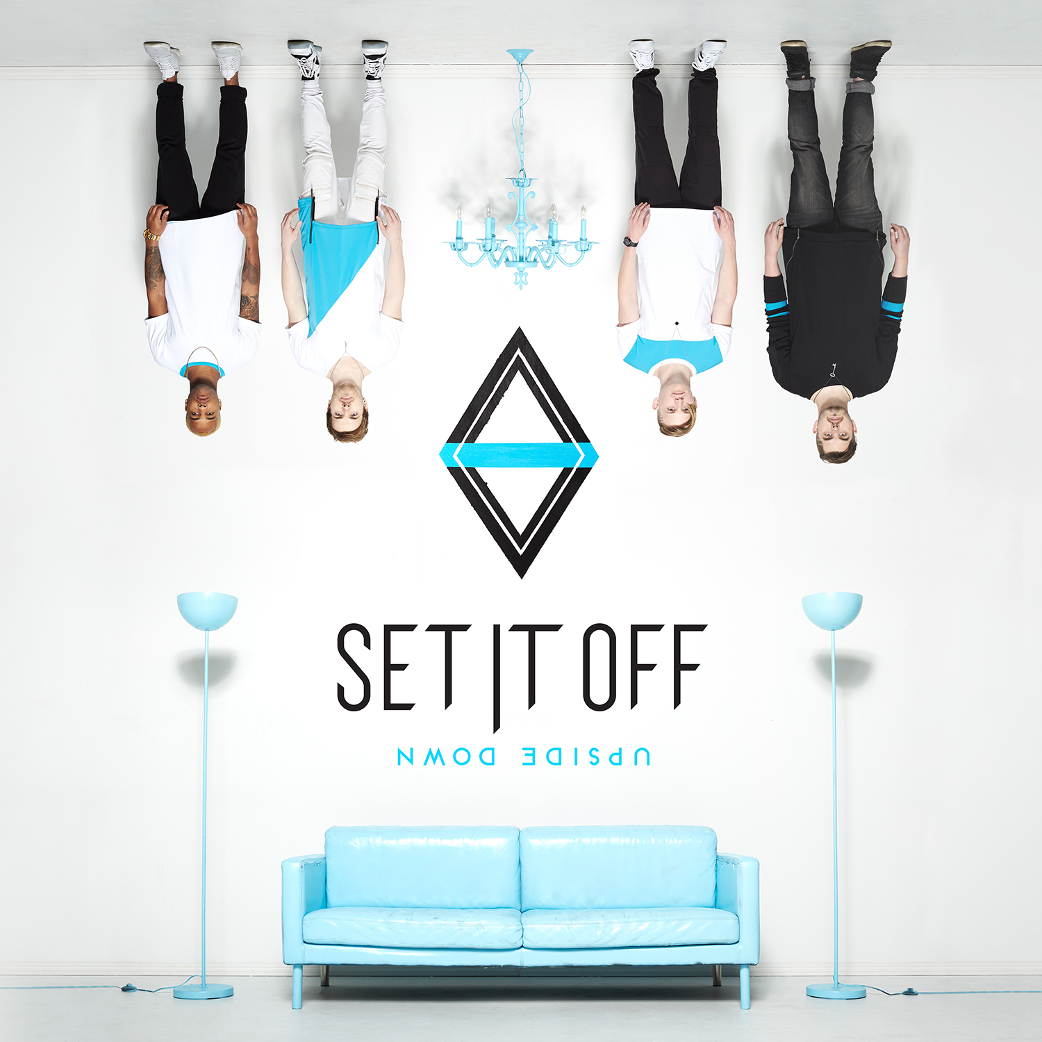 set it off - upside-down