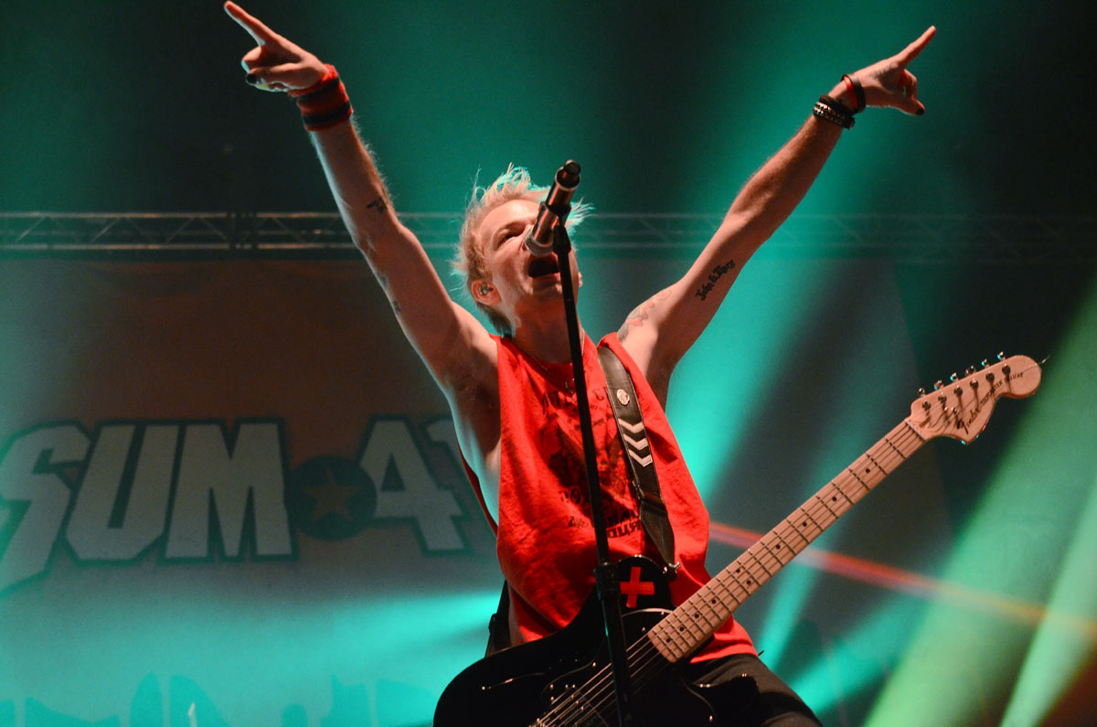 sum41 - wizink center madrid 2017