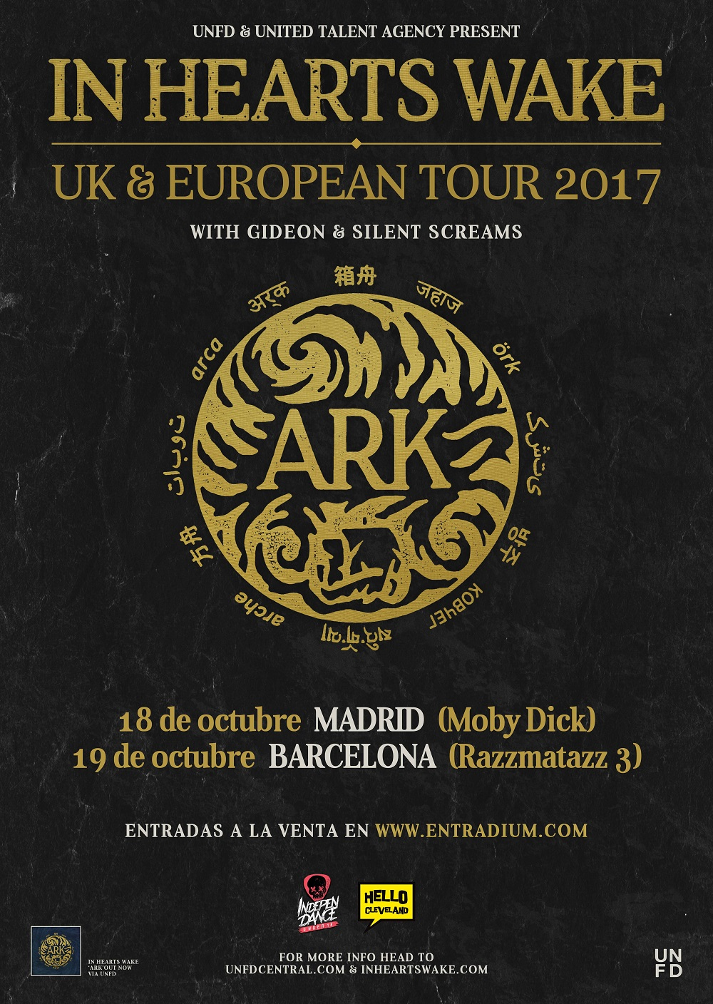 in hearts wake - madrid barcelona 2017