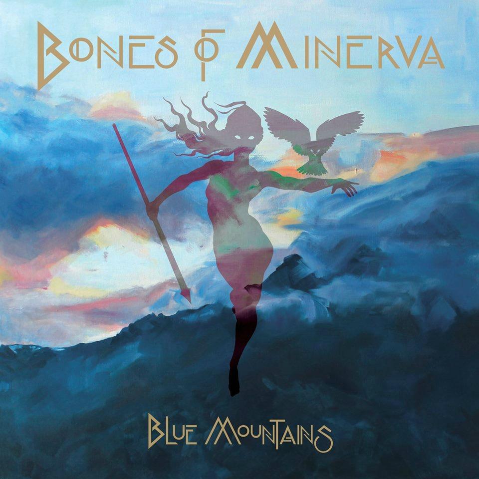 bones of minerva - blue mountains portada