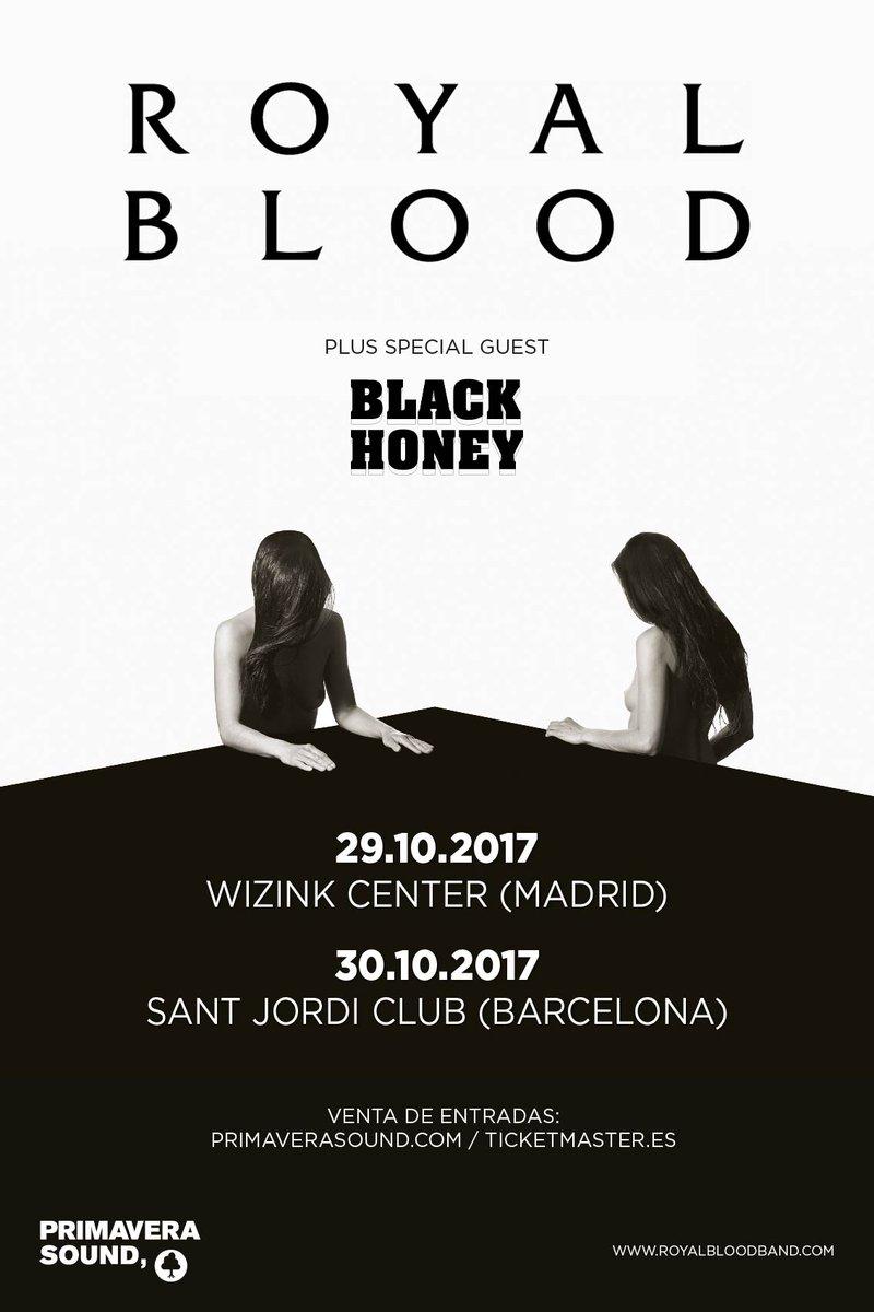 royal blood - madrid barcelona 2017