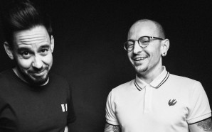 mike shinoda and chester bennington - may 2017