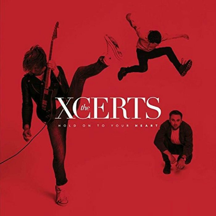 the xcerts hold on to your heart portada