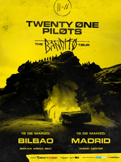 twenty one pilots bilbao madrid 2019