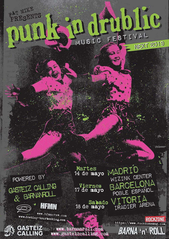 punk in drublic 2019 en españa