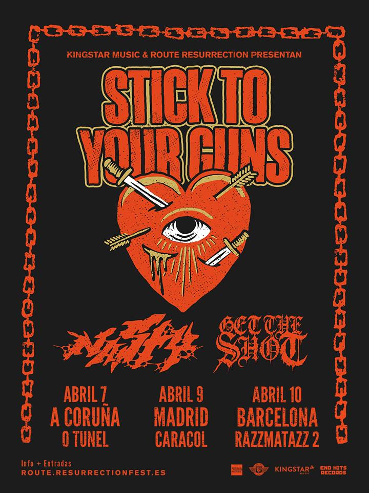 stick to your guns conciertos españa 2019