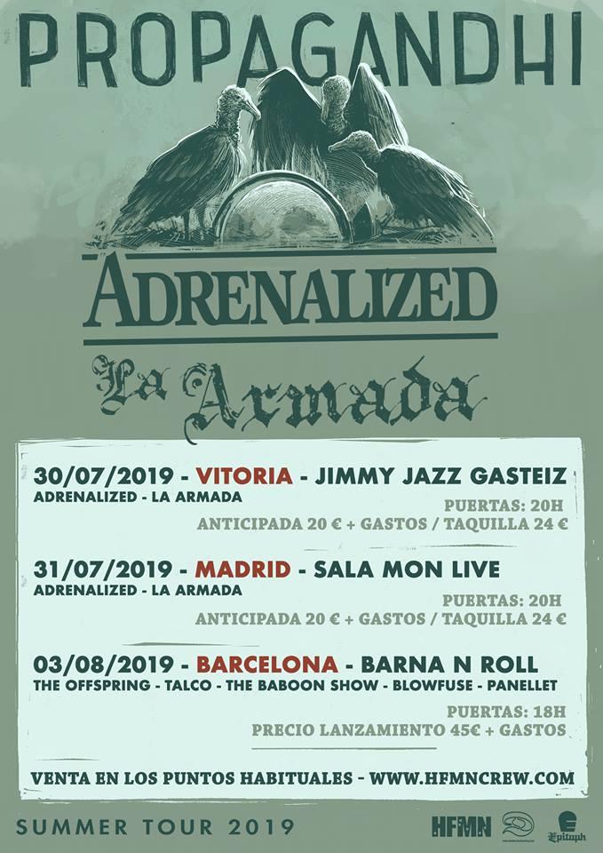 propagandhi vitoria madrid barcelona 2019