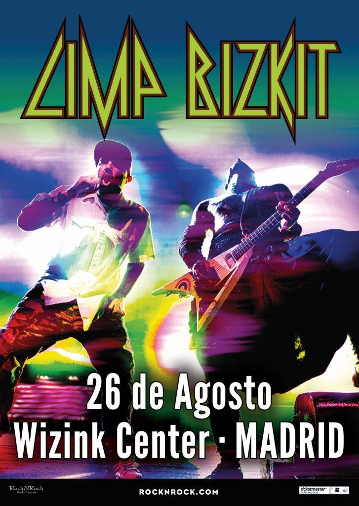 Limp Bizkit en Madrid 2020