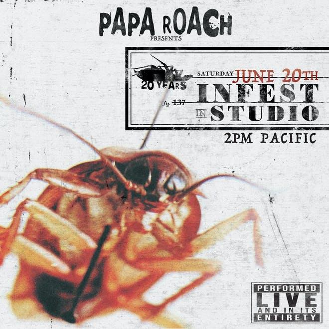 Papa Roach Infest livestream 2020