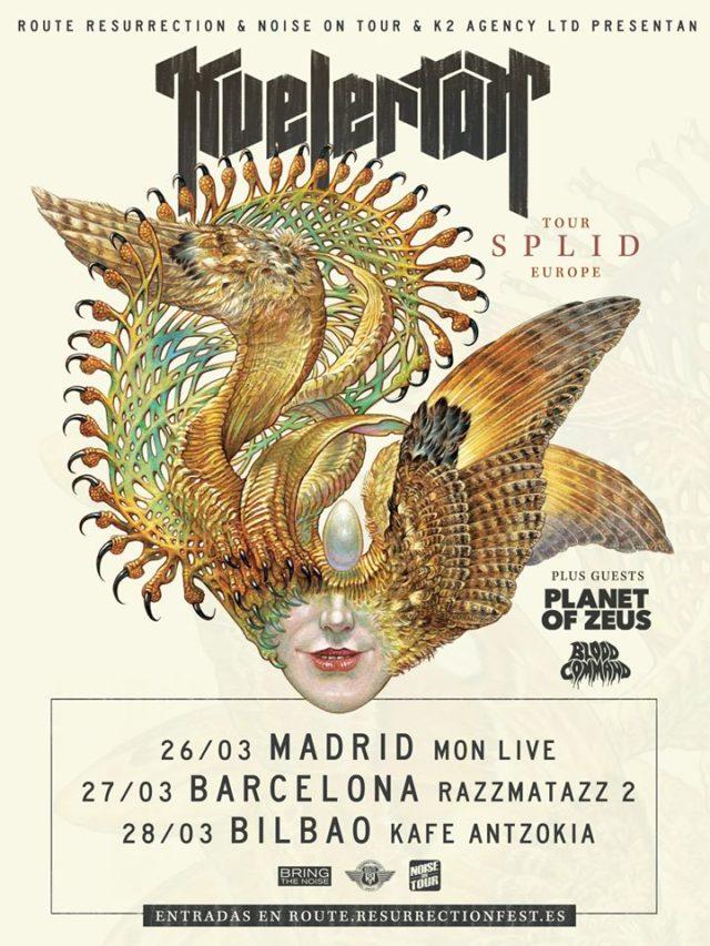 kvelertak - madrid, barcelona y bilbao en 2021