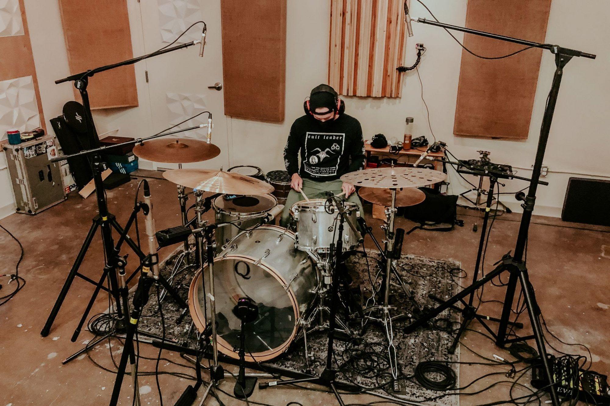 Thrice grabando su nuevo y undécimo álbum