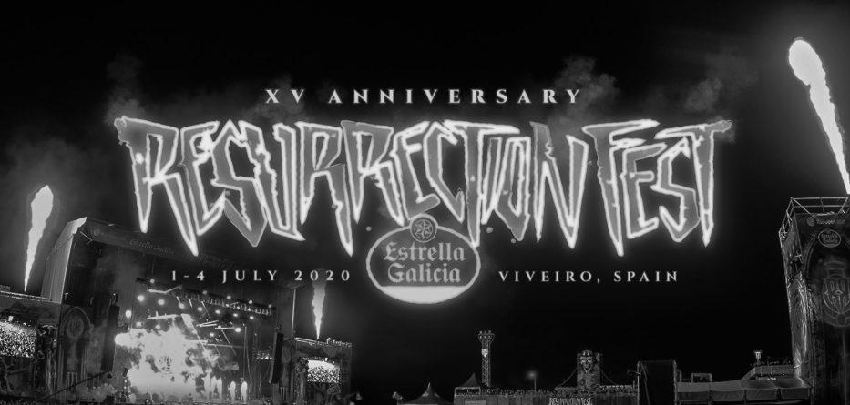 Aplazamiento Resurrection Fest 2020