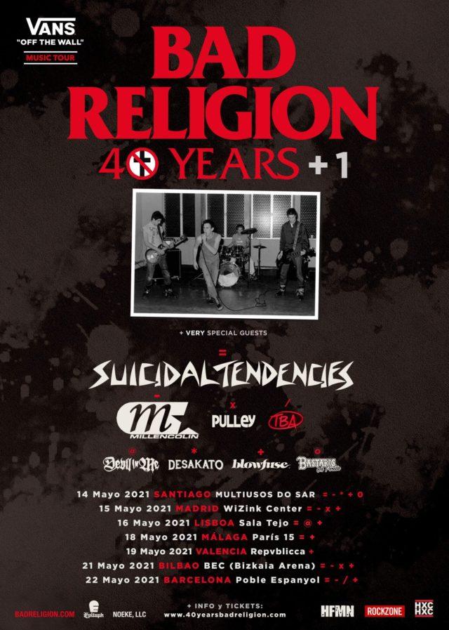 Bad Religion 40 años+1